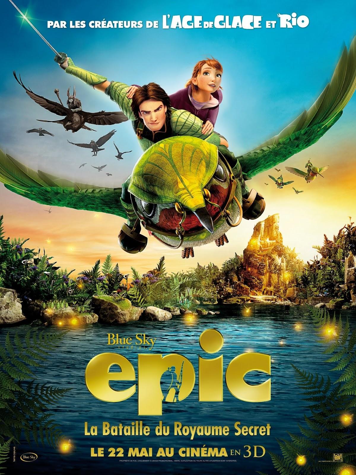Download Epic 2013 HD BluRay Subtitle Indonesia